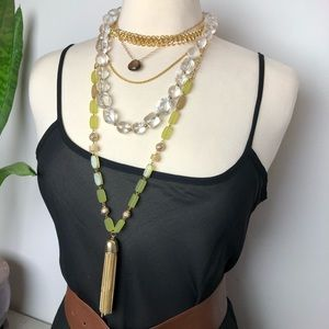 Custom combo of layered jewels 💎💕